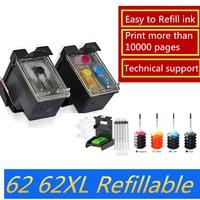 hp officejet GraceMate Refilled Ink Cartridge Replacement for HP 62 XL cartridge for HP Envy 5640 OfficeJet 200 5540 5740 5542 7640 printers (1)