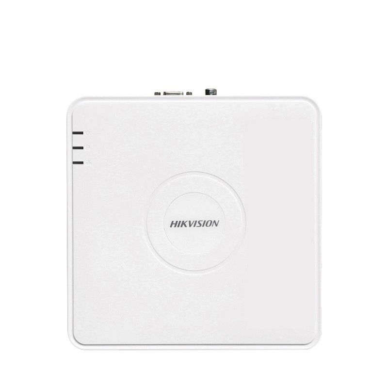 Hikvision Ds-7104n-f1 Network Hard Disk Video Recorder 4-Way High-definition Monitoring Host NVR Mobile Phone Remote