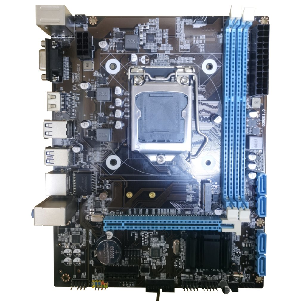 B85 Computer Motherboard Gigabit 1150 Pin CPU DDR3 I74770/i54460 Super H81B75 Computer Motherboard With VGA DVI