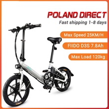 [EU Direct] FIIDO D3S Shifting Version Electric Bicycle 36V 7.8Ah 300W 16 Inches