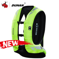DUHAN New Motorcycle Air bag Vest Motorcycle Jacket Moto Racing Professional Advanced Air Bag System Motocross Protective Airbag