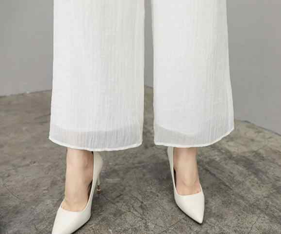 Chiffon Pant Suits For Mother Of The Bride Groom Women Party Wedding Guest Formal White Elegant 2 Piece Set Pantsuit Outfits Pant Suits Aliexpress