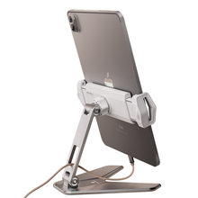 Tablet Stand Tablet Accessories, Dual Axis Adjustable Lazy Phone&Tablet Bracket, Foldable Cell Phone Holder for iPad iPhone