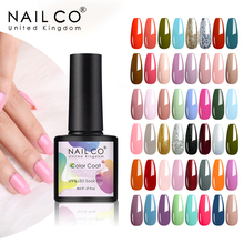 NAILCO 8 ML Color Gel Polish Soak Off UV Gel Varnish Semi Permanant UV Gel Nail Art Hybrid Varnishes All For Manicure lacquer