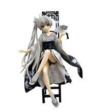22cm Anime Girls Doll Kasugano Sora Kimono PVC Action Figure Collectible Model Adult Toys стоимость
