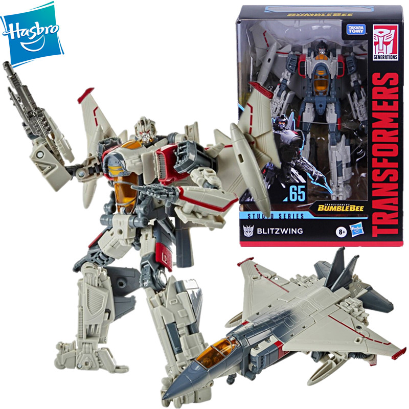 Hasbro Transformers Toy Studio Series 65 Voyager Class Movie Blitzwing 3 Changer Airplane Action Figures Model Toys Ss65 Mega Offer 78f41a Cicig