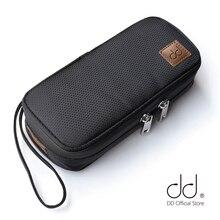DD ddHiFi C 2019 (b) personalizado caso de transporte de alta fidelidade para audiófilos, fone de ouvido e cabos saco de armazenamento, leitor de música caso protetor.