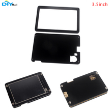 DIYmall Acrylic Plastic Transparent Black Case for Nextion Enhanced 3.5 HMI Touch Display