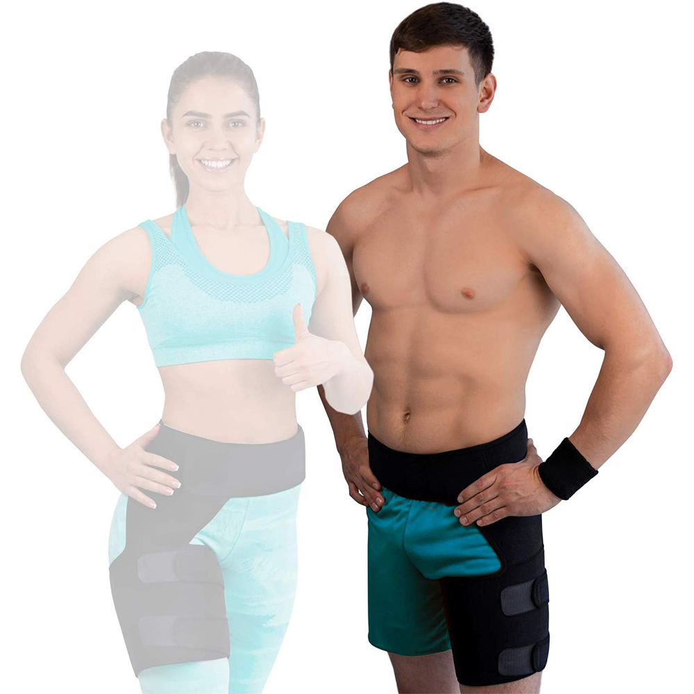 Compression Brace For Hip Sciatica Nerve Pain Relief Thigh Joints Arthritis Groin Wrap Brace Protector Belt