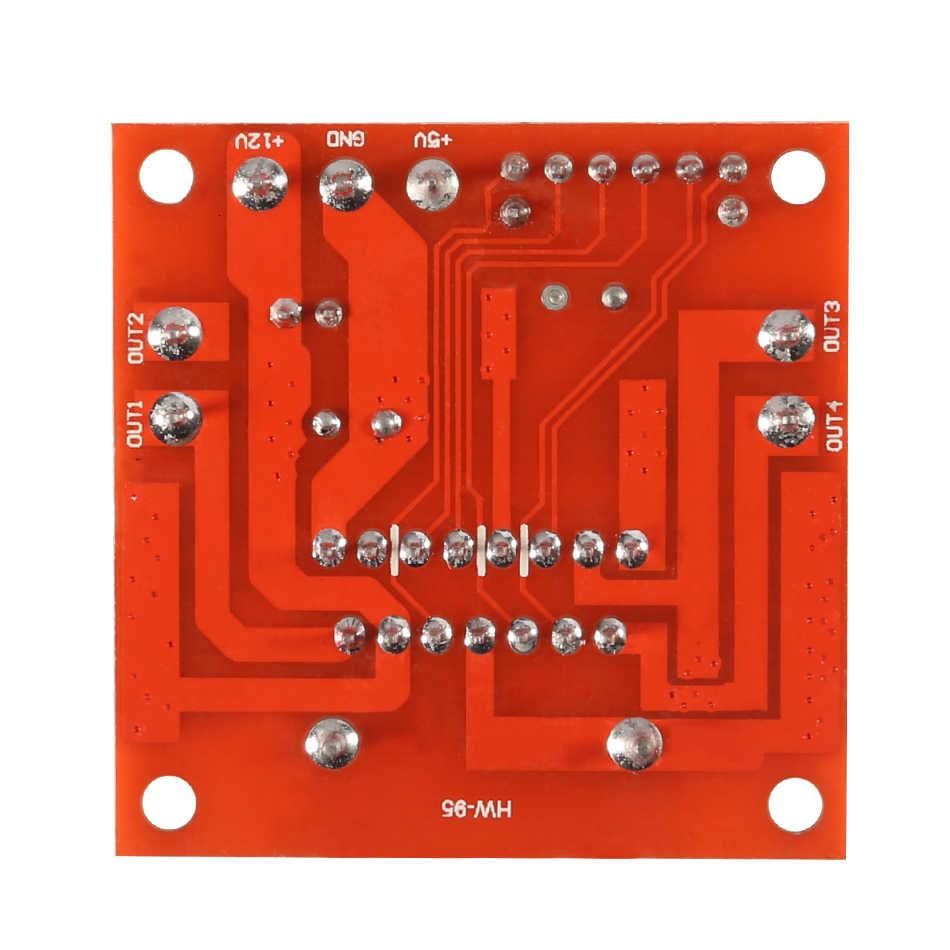Plaque de développement de bouclier d'expansion de moteur à courant continu pas à pas de l'électronique intelligente L298N pour ruiner la voiture de robot à monter soi-même