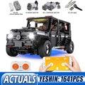Yeshin 20100 DHL Technik Auto Kompatibel Mit Neue MOC 2425 G500 AWD Wagon Set Bausteine Ziegel Kid App RC Motor auto Spielzeug-in Sperren aus Spielzeug und Hobbys bei