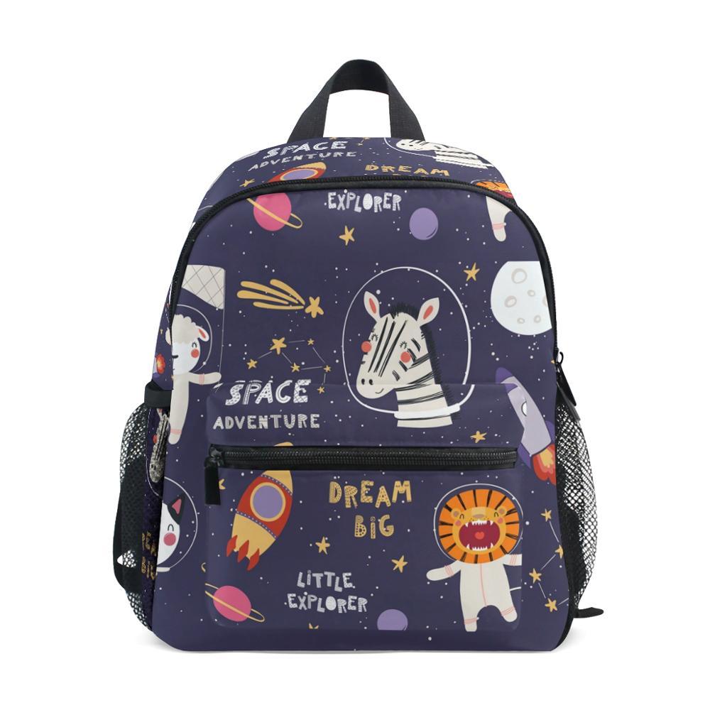 ALAZA 2019 New School Bags For Children Backpack Animation Print Infantis Cartoon School Knapsack Baby Bags Children's Backpacks