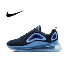 Oryginalne prawdziwe Nike Air Max 720 męskie buty do biegania oddychające i wygodne buty sportowe Trend nowe 2021 wymienione AO2924-700 tanie tanio NIKE VN (pochodzenie) Amortyzację Odkryty lawn Zaawansowane Wysokość zwiększenie Patent leather Średnie (b m) Niskie