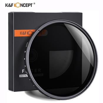 K amp F CONCEPT ND2-400 filtr nd 37 40 5 43 46 49 52 55 62 67 72 77mm regulowany neutralna gęstość Fader zmienna filtr obiektywu kamery tanie i dobre opinie K F CONCEPT Fader Variable ND2-ND400 ND2~ND400 lens filter Adjustable ND2-ND400 Lens Filter 37 40 5 43 46 49 52 55 58 62 67 72 77 82mm