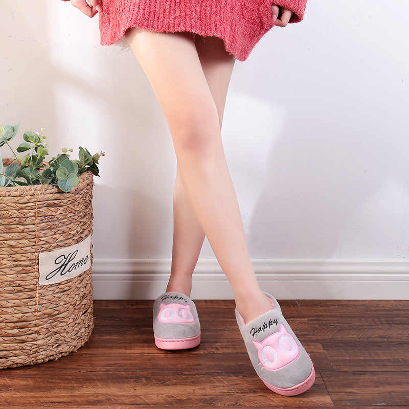Kalın alt kapalı pamuklu ayakkabı sonbahar kış çizmeler kadın çift ayakkabı sıcak peluş çizmeler kadın ayakkabıları kış toptan
