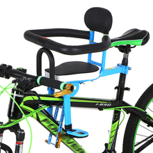 Bicycle Baby Seat Child Chair Front Mount Kids Saddle Cushion All-around Handrail Mountain Bike