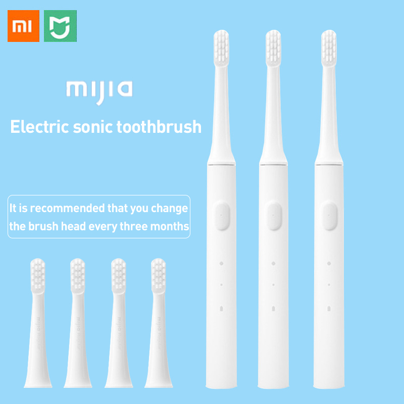 Xiaomi Electric Toothbrush Sonic toothbrush Cordless USB Rechargeable toothbrush IPX7 waterproof whitening oral deep care 3