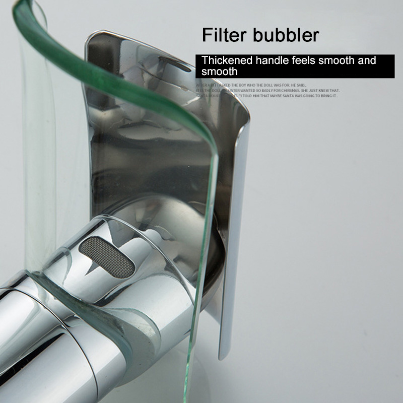 Hf62bf2254e0847dbb1a629f2b6960470q Basin Faucets Waterfall Faucet For Bathroom Basin Mixer Tap Single Handle Sink Mixer Tap Deck Mounted Bathroom Torneiras