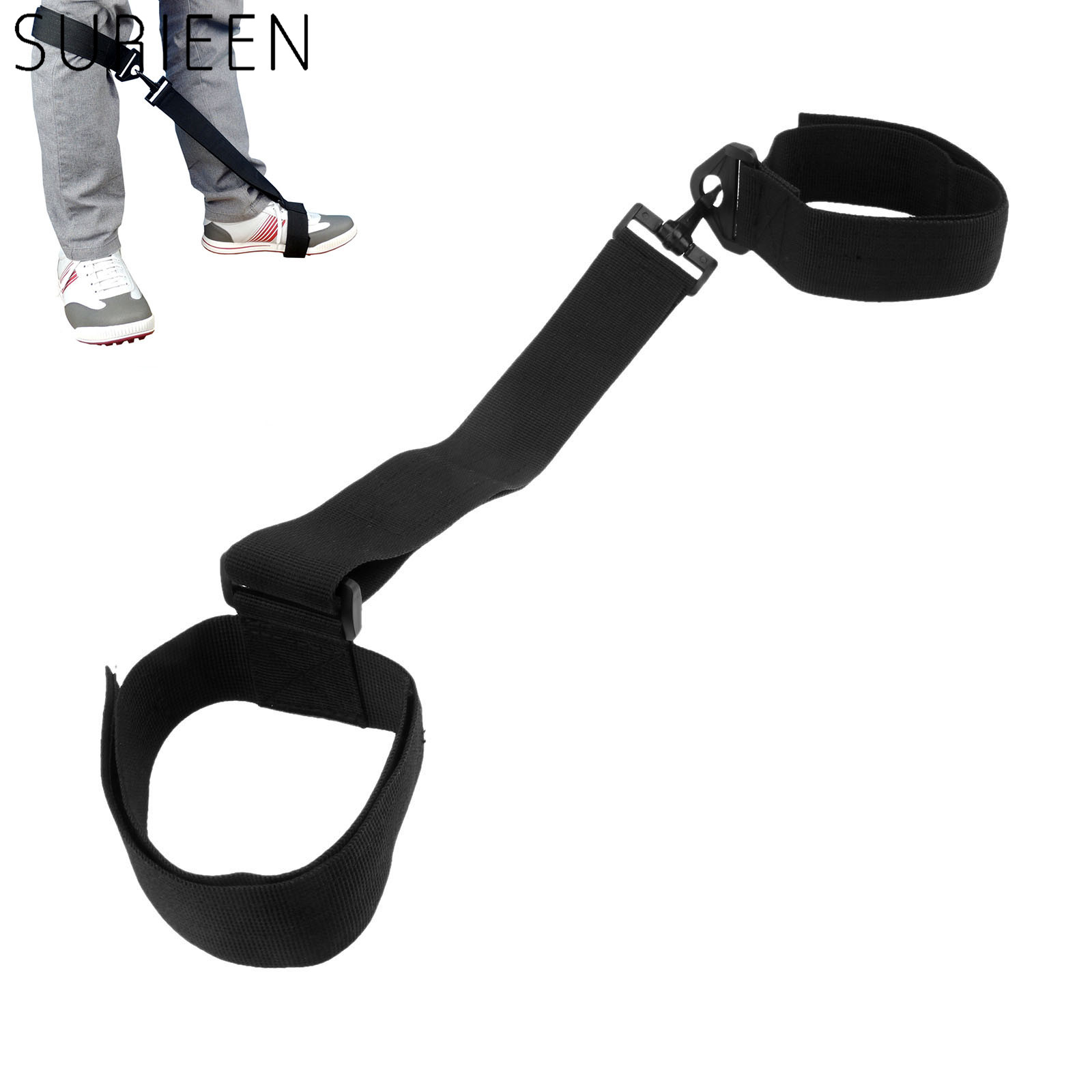 Golf Training Aids Golf Leg Strap For Golf Beginners, Golf Swing Practice Trainer, Leg Brace Band Strap Posture Corrector Belt