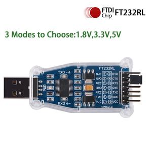 Image 2 - FTDI USB to 1.8V 3.3V 5V TTL UART Switch Serial Adapter Module Support Win7/8/10/Android/Mac os