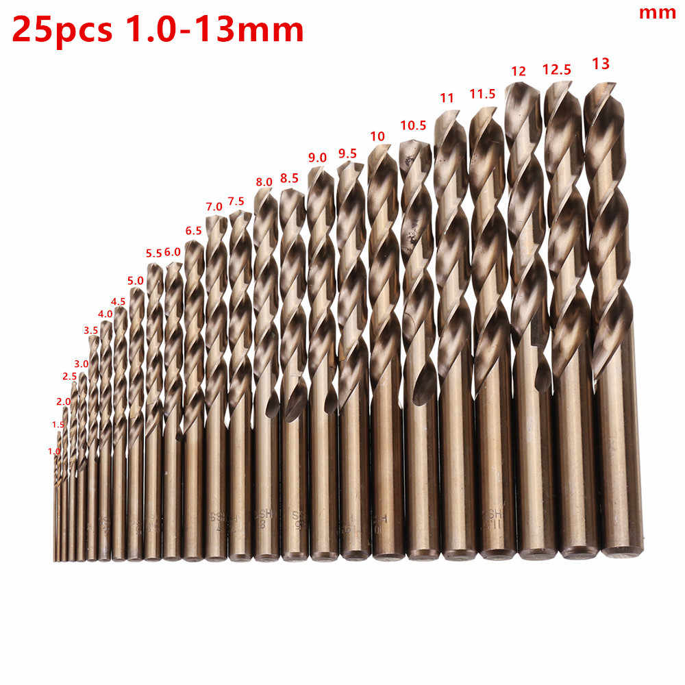 HSS Drill Bit Hand Drilling Tool Twisted Drill Bits 7.5 high Speed Steel 10 pcs//Box 4241 Electric Drill Wood Stainless Steel for Ordinary Pistol
