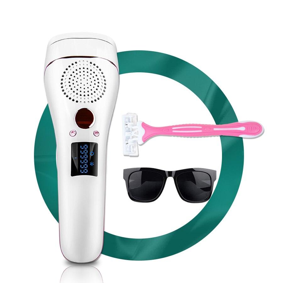 Laser Epilator Painless IPL Hair Removal Facial Body Profesional Bikini Hair Removal For Women And Man IPL Epilator For Legs Arm