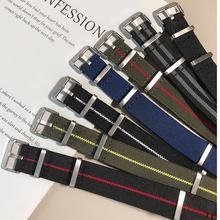 Nato armband uhr band 20mm 22mm für Samsung Galaxy Uhren Strap Sport Uhr Band für Amazfit Huami Uhr nylon Uhr Replacemen cheap UYRBKS CN (Herkunft) 28cm Neu ohne Etiketten Nylon strap Buckle