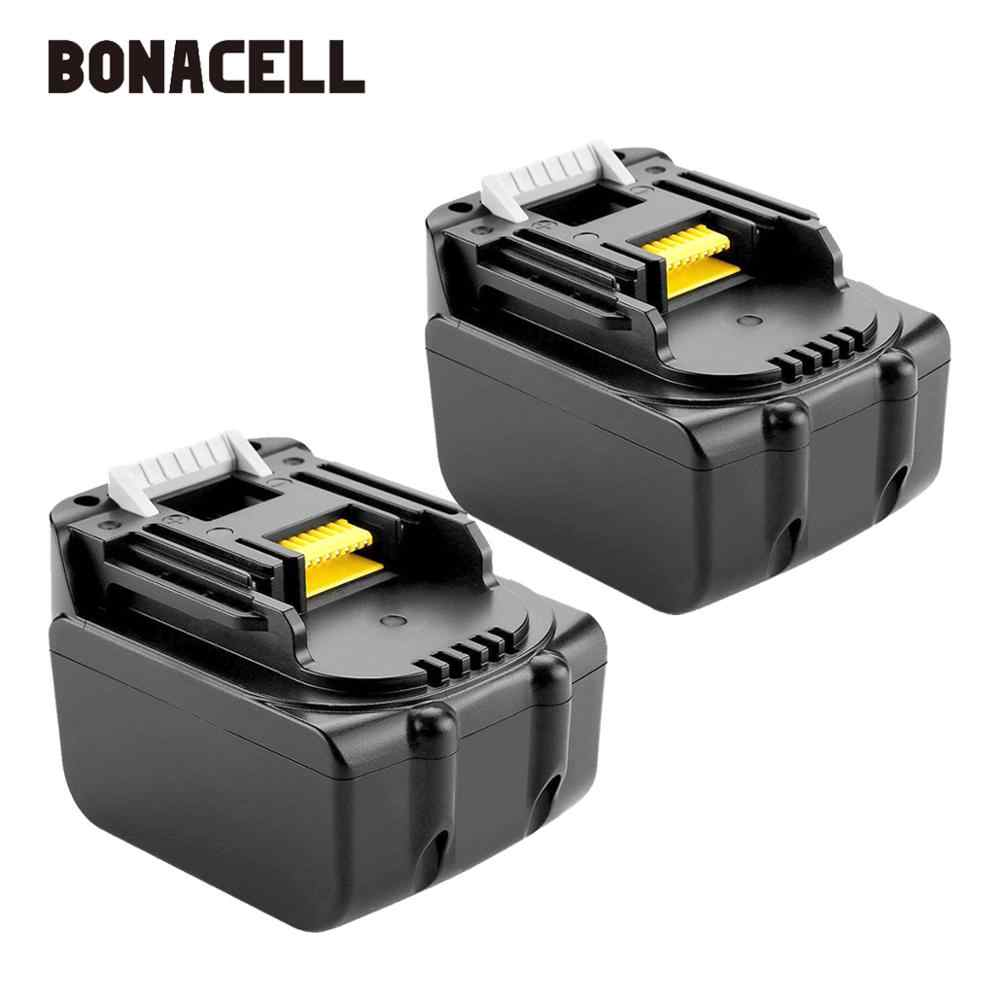 Bonacell 14.4V 3000mAh Lithium-Ion Replacement Battery for Makita Cordless Tools BL1430 BL1440 194558-0 194559-8 L30
