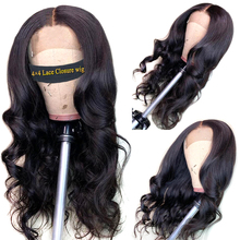 Closure Wig Human Hair Wigs Body Wave Cl