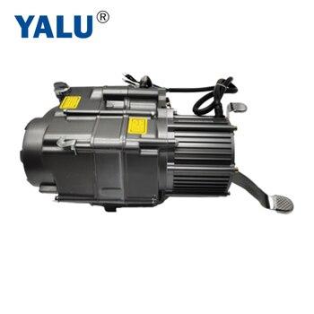 Motor eléctrico para motocicleta Kit 1000W 48V 60V patinete sin escobillas DC Motor de moto ATV Go Kart Kit de conversión