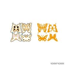 AZSG Dancing butterfly Cutting Dies For DIY Scrapbooking Decorative Card making Craft Fun Decoration 9.2*8.2cm