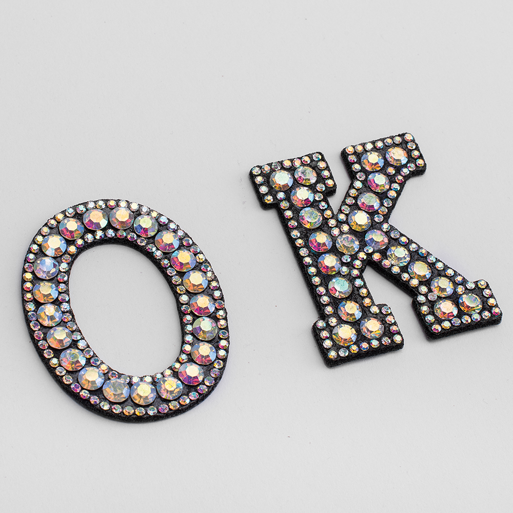 Hf62d7ebddc2c4b088a47da7dfd67e8b8J A-Z 1pcs Rhinestone English Alphabet Letter Applique 3D Iron On letters Patch For Clothing Badge Paste For Clothes Bag Shoes