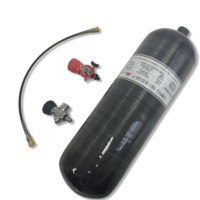 AC309301 Acecare 9L GB Compressed Air Tank PCP Paintball Carbon Fiber Cylinder For Target Shooting With Valve&Filling Station