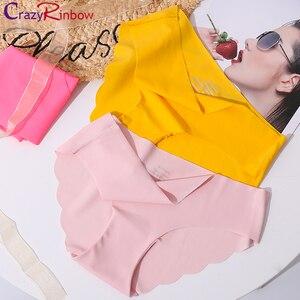 Hot sale Original New Ultra-thin Women Seamless Traceless Sexy lingerie Underwear Panties Briefs(China)