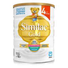 Сухой молочный напиток Similac Gold 4, c 18 мес., 900 г