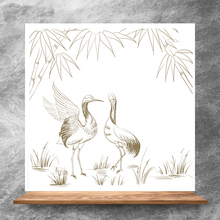 ZhuoAng Beautiful red-crowned crane Clear Stamps/Silicone Transparent Seals for DIY scrapbooking photo album Clear Stamps