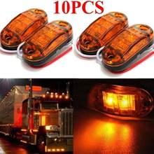Luz LED ámbar con indicador lateral para coche y camión, Kit creativo de lámpara w5w, bombillas led p21w, 10 Uds.