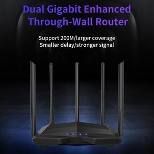 Image 3 - GC11 AC1200 אלחוטי WiFi נתב עם 2.4G/5.0G רווח גבוה אנטנת Wifi מהדר להקה כפולה נתב אלחוטי, app בקרה