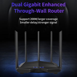 Image 3 - GC11 AC1200 Wireless WiFi Router with 2.4G/5.0G High Gain Antenna Wifi Repeater Dual Band Wireless Router,App Control