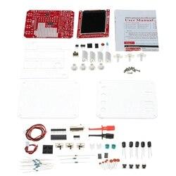 ABGN Hot Dso138 13805K Mini oscyloskop cyfrowy zestaw Diy części Smd wstępnie lutowany elektroniczny zestaw do nauki oscyloskopy|Wyświetlacze|Elektronika użytkowa -