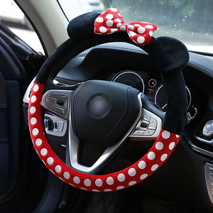 Car Steering Wheel Minnie version Cover cute Cartoon Universal Interior Accessories Set Women/man 14 design Car covers Hot New