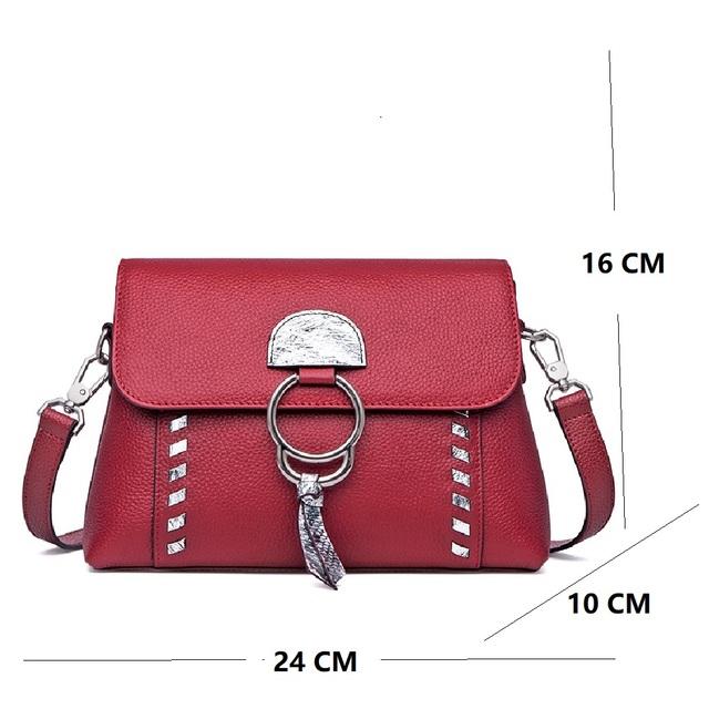 ZOOLER Women Cow Leather Hand bag 100% Genuine leather Bags Small сумка через плечо Girl Messenger Bag bolsa feminina#LT239