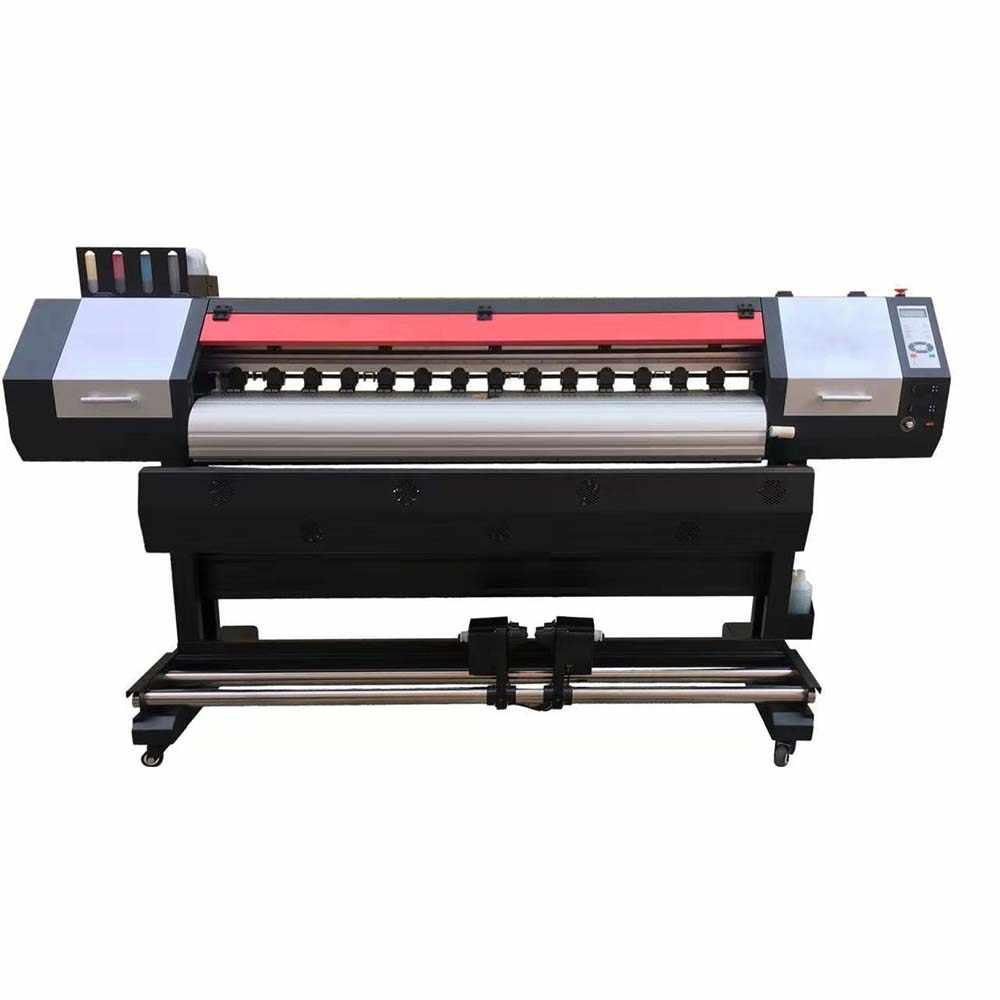 Ekologiczna drukarka solwentowa drukarka wielkoformatowa sprzęt 1.9 M na zewnątrz ekologiczna drukarka solwentowa maszyna z dwoma DX5 XP600 DX7 5113 głowy