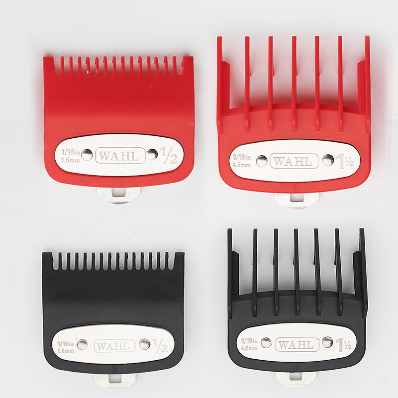 Electric Clipper Limit Comb For Hair Clipper 1.5mm 4.5mm Color Clippers Caliper Positioning Comb Hairdressing Tool Accessories