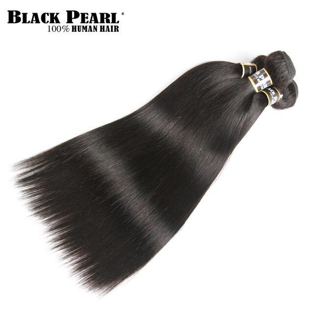 Black Pearl Pre-Colored 3 Bundles - Straight Human Hair 2