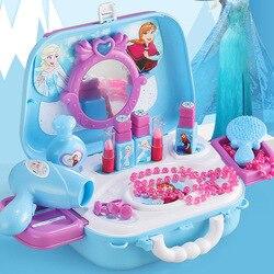 Disney princesa brinquedos congelados meninas brinquedos vestir maquiagem brinquedos conjunto crianças maquiagem congelado 2 crianças brinquedos crianças brinquedos de maquiagem meninas