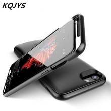 KQJYS Backup Power Bank Charging Cover for iPhone 6 6S 7 8 Plus External Battery Charger Case for iPhone 6 6S 7 8 Power Bank