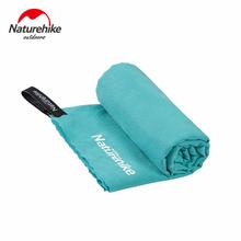 Ręcznik plażowy z mikrofibry Naturehike kompaktowy ręcznik kąpielowy szybkoschnący ręcznik antybakteryjny szybkoschnący ręcznik podróżny Sport Gym ręcznik golfowy tanie tanio CN (pochodzenie) Bardzo chłonne Gładkie barwione Tkanina z mikrofibry Naturehike Microfiber Beach Towel L - 128x80 cm (50 4x31 5 in) M- 80x40 cm (34 5x15 7 in)