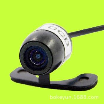 Carro universal pendurado dirigindo para a frente-olhando webcam pequena borboleta de alta definição ccd câmera de monitoramento de visão traseira