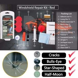 Image 2 - VISBELLA cam tamir kiti DIY araba pencere tamir parlatma ön cam yenileme aracı otomatik çizik çip çatlak geri düzeltme